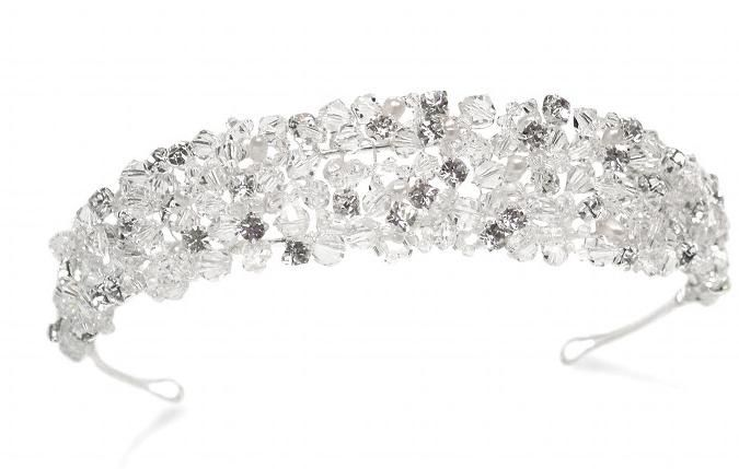 Alexis tiara By Ivory and Co