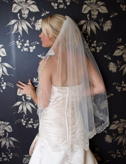 Casablanca veil by Ivory and Co