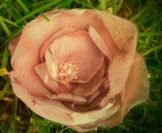 Chiffon Flower by Melissa Dawson