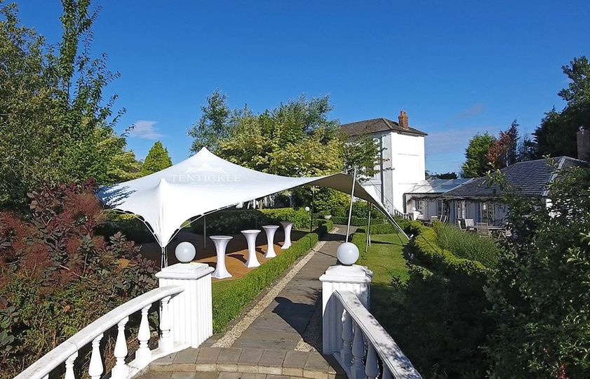 Manor house marquee