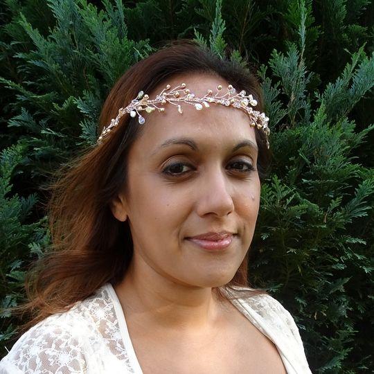 Melinda Hair Vine Crown