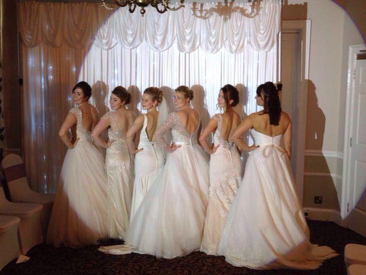 Wedding show make-up