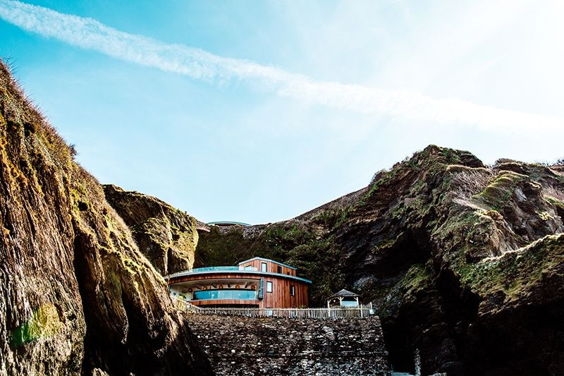 Nestled in the Cliffs