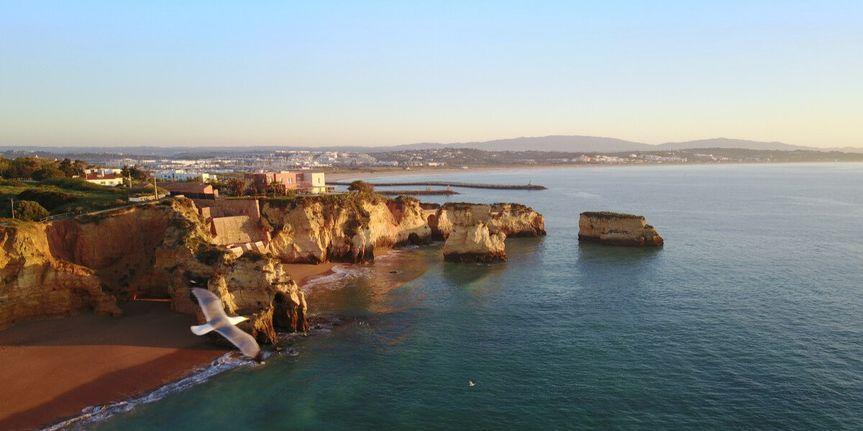 Algarve costline
