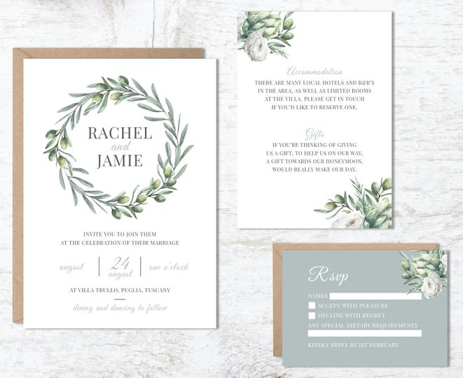 Eucalyptus invite