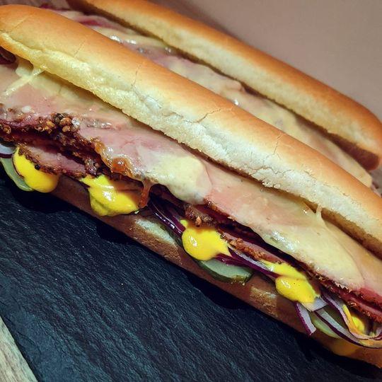 Pastrami Sub sandwich