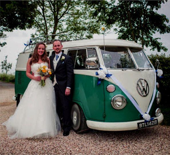 VW Wedding Campervan