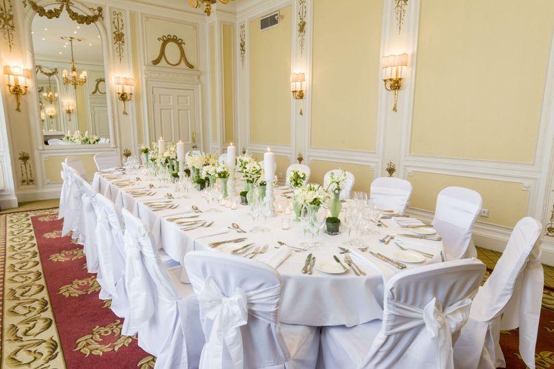 Royce suite - Wedding Breakfast