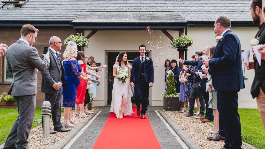 Intimate Wedding at Oldwalls