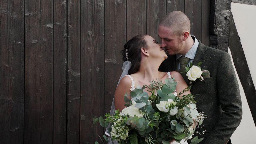 Couple having formal photos