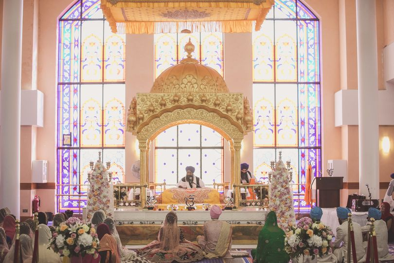 Sikh wedding in London