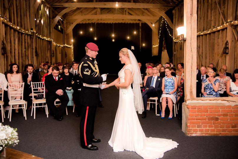 Wedding ceremony - Dotty Photography