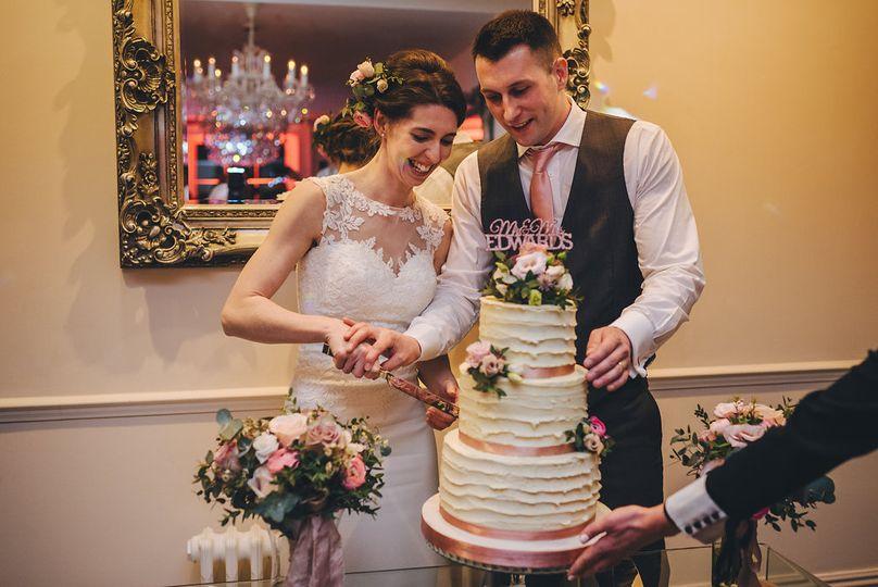 Wedding cake by Southwell Cake