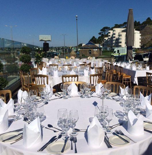 Terrace Wedding Breakfast