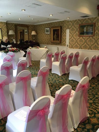 Civil Ceremony in the Emerald Room