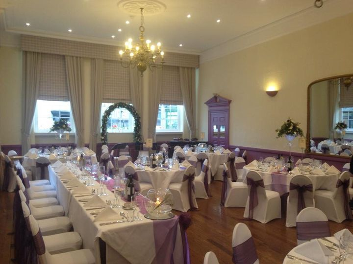 Wedding Breakfast in the Ballroom