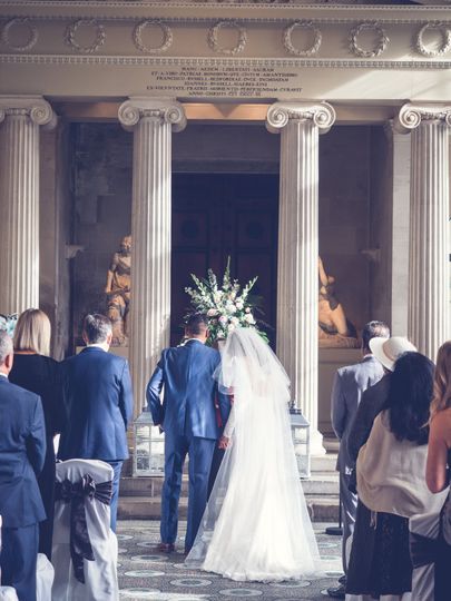 Ceremony in The Sculpture Gallery