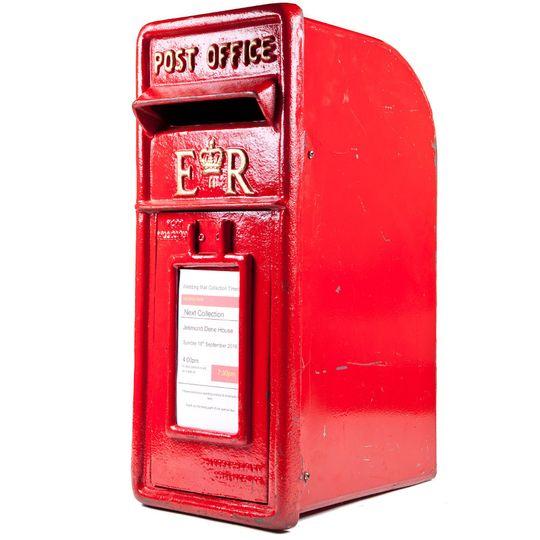 Red Large Royal Mail Post Box