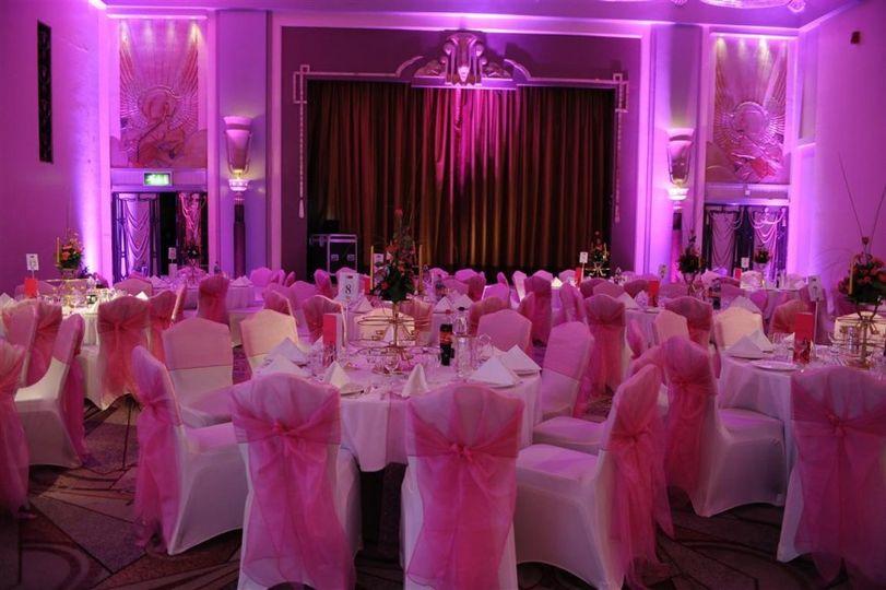 Fucshia wedding