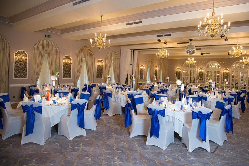 Wedding Reception at Moor Hall Hotel