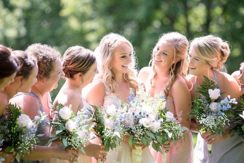 Joyful wedding