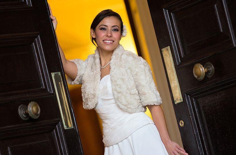 Bride doorway