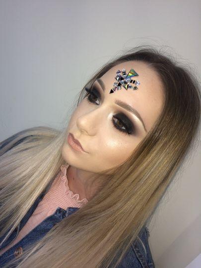 Smokey Eye-Festival Makeup