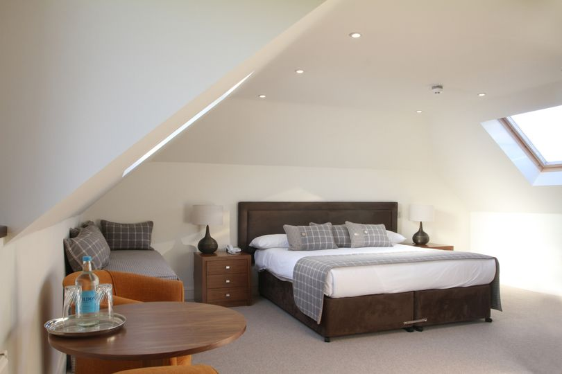 one of our new suites in the coachhouse