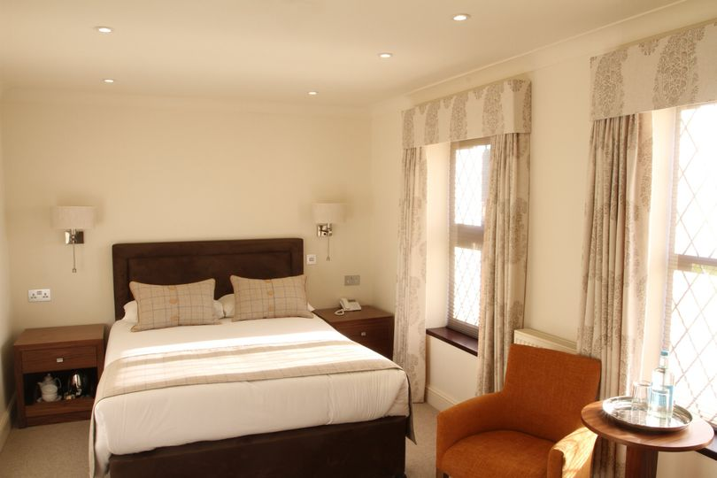 one of our new double bedrooms in the coachhouse