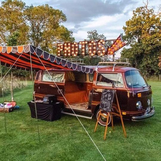VW camper booth