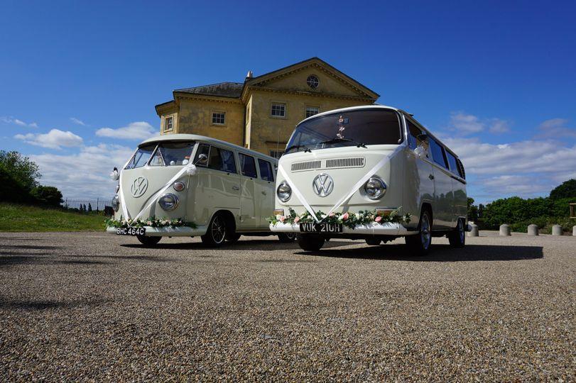 Cars and Travel White Van Wedding Company 39