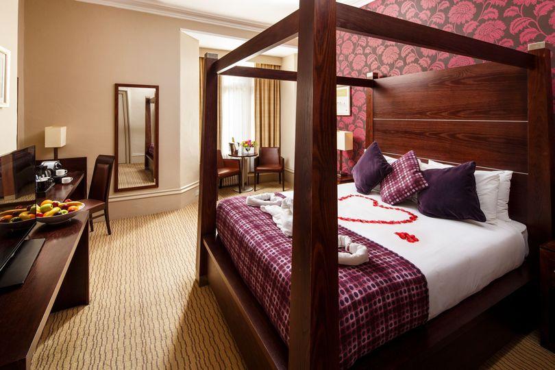 Honeymoon Suite at Mercure Bradford