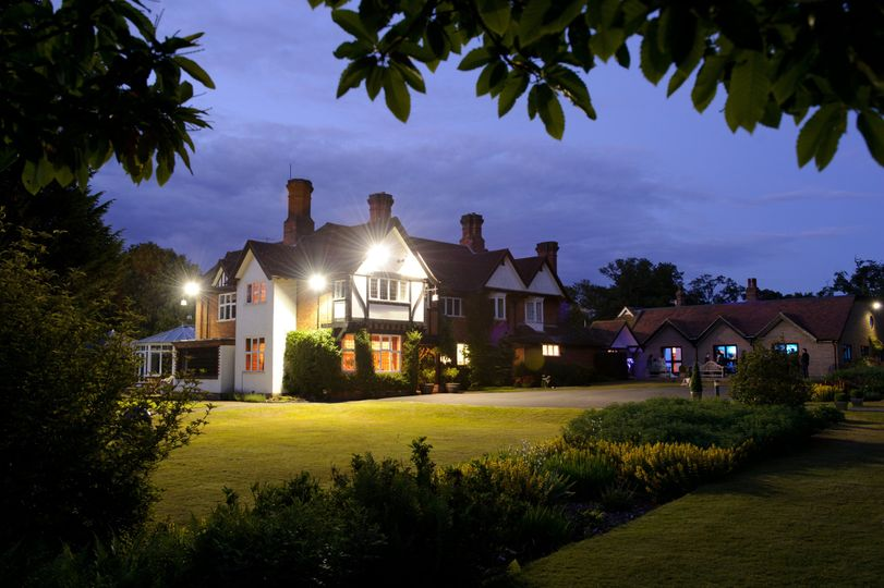 Yew Lodge at Night