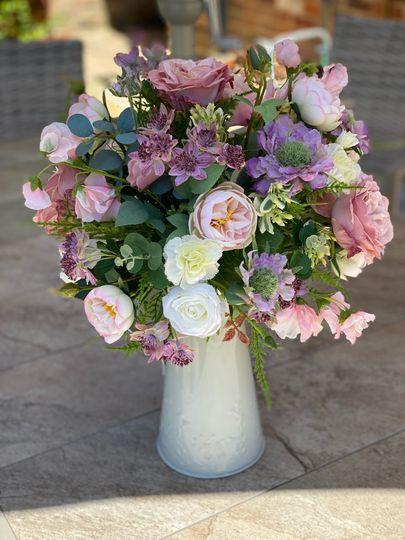 Jug of flowers