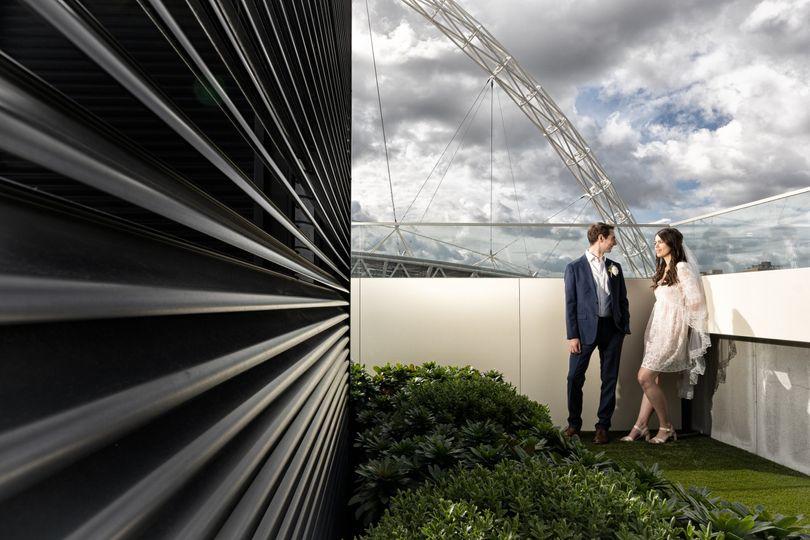 Wembley Roof Tops