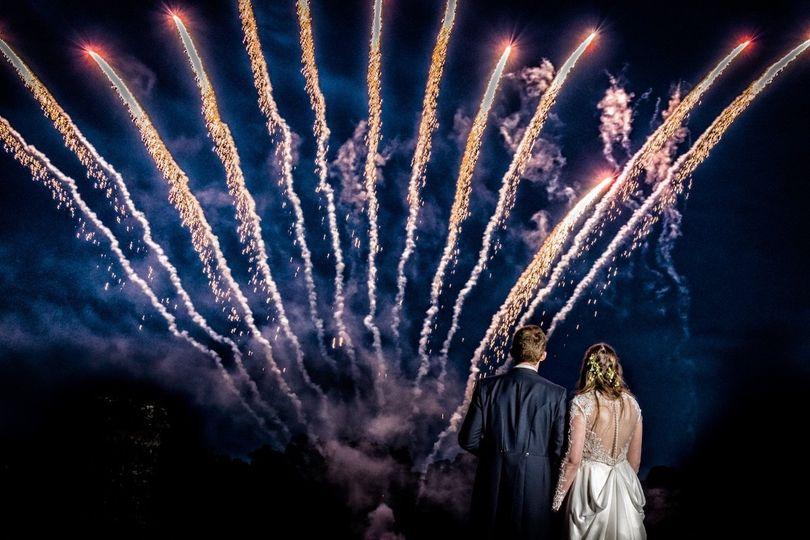 Fireworks - Creating Diamonds Wedding Photography