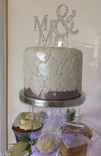 Tower Topper cake