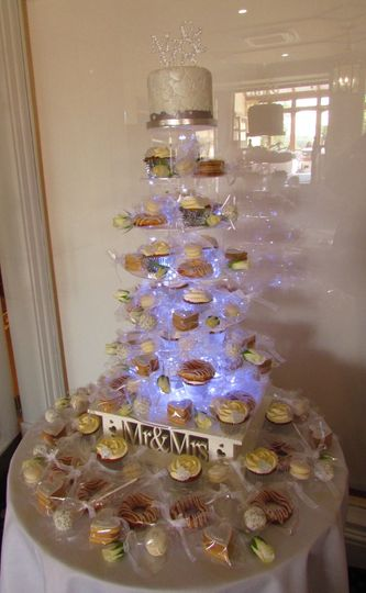 Cookie & Cake Tower