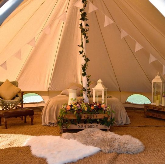 Our bell tents
