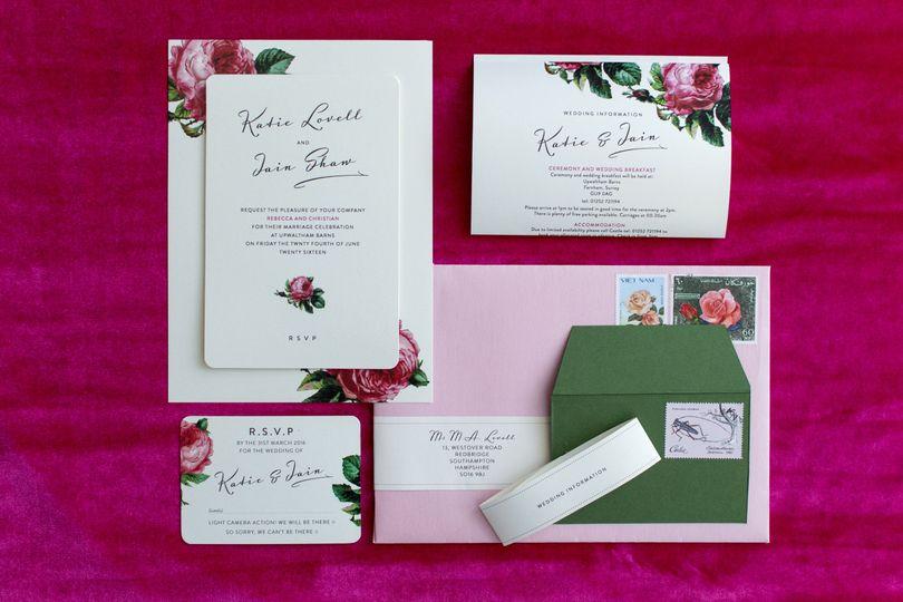 Bloom wedding set