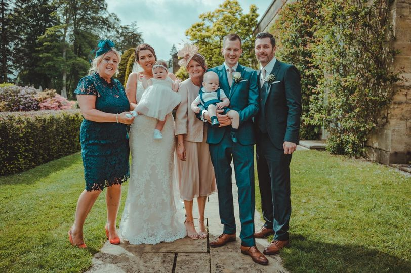 Family photo - 21 Degrees Wedding Videography