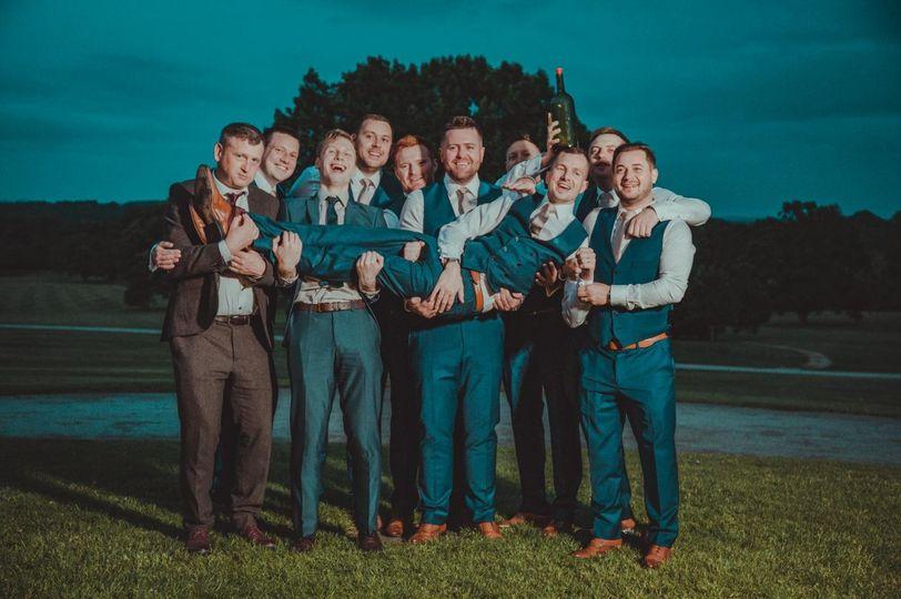 Fun group photo - 21 Degrees Wedding Videography