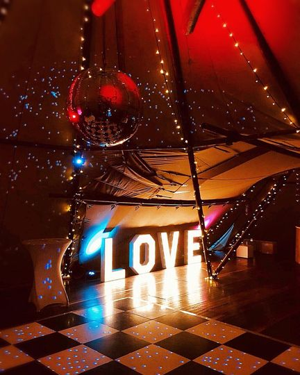 Love in a tee pee