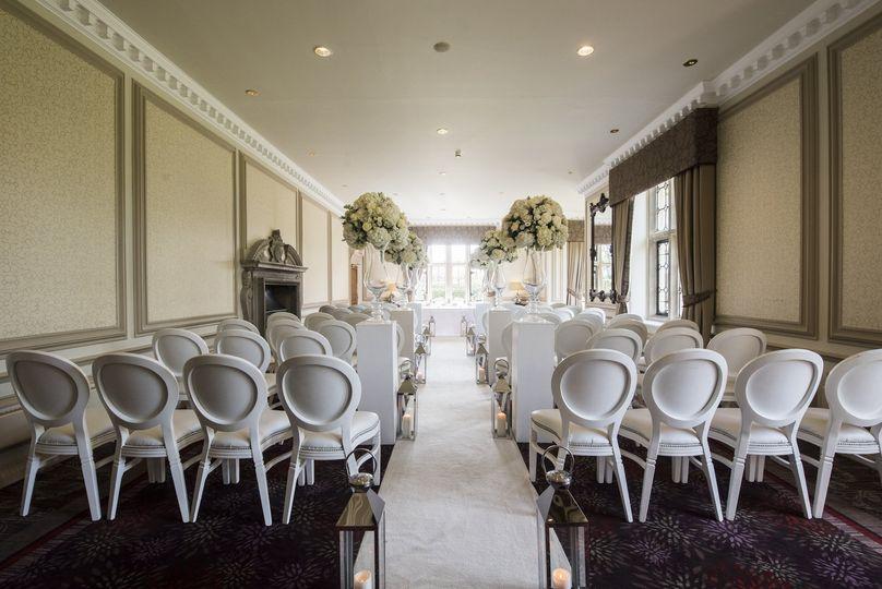 Manor Lounge Civil Ceremony