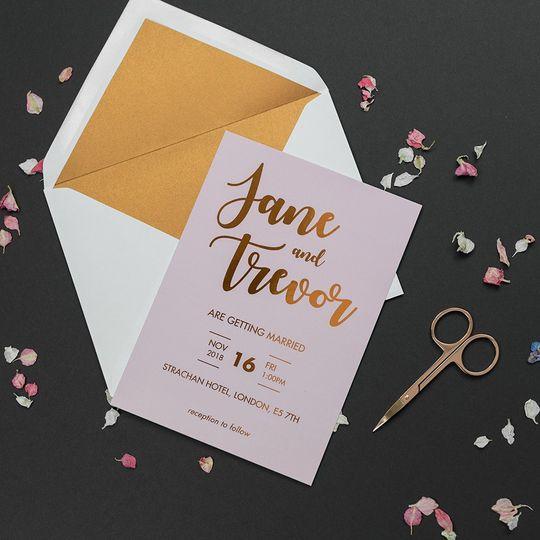 Blush Invite