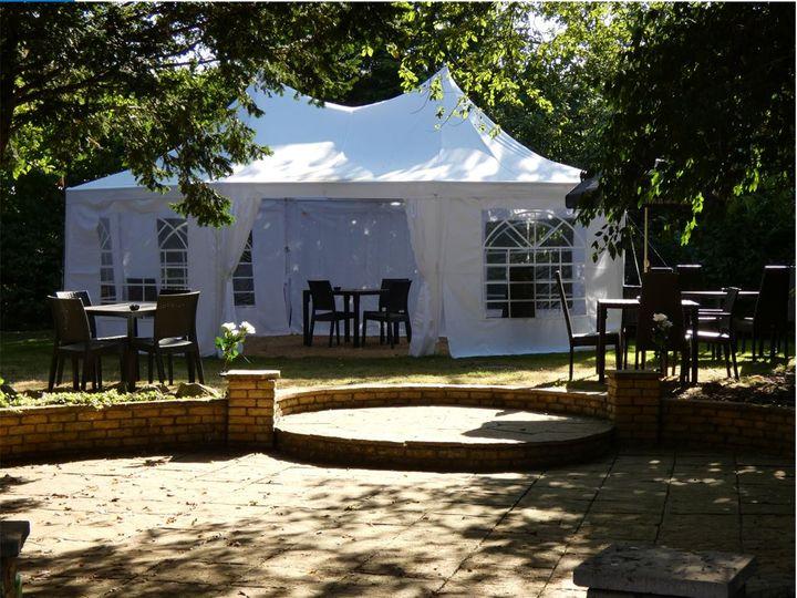 Private Garden event space