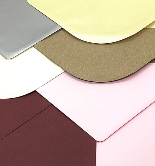 Assorted Coloured Envelopes