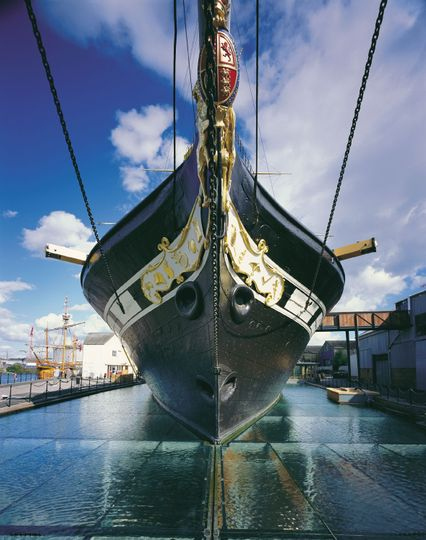 Brunel's SS Great Britain - Outside view