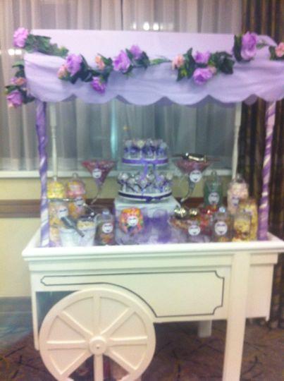 Lilac Sweet Cart