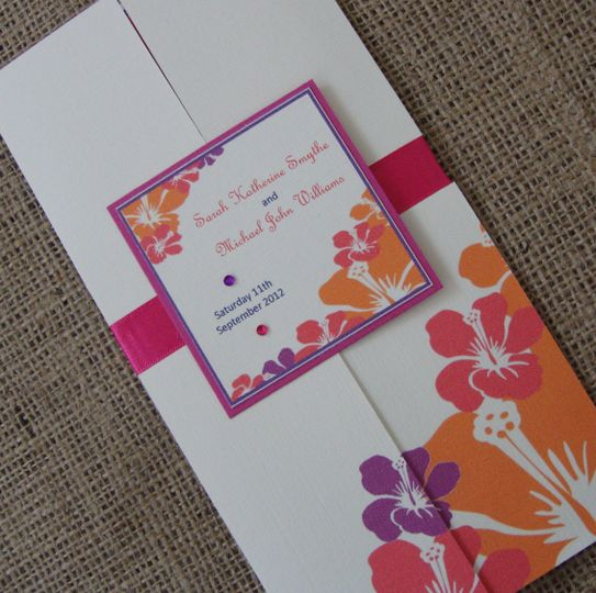 Hibiscus gatefold